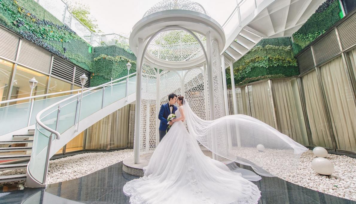 《台北婚錄》夢幻白紗的幸福物語 / 晶宴會館 民權館