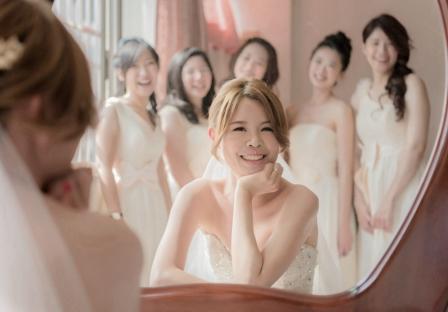《高雄婚攝》 婚禮中的絕美幸福 / 福容大飯店
