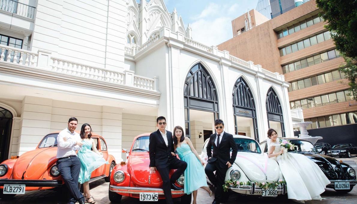 《台北婚錄》莊嚴的幸福婚禮 / 翡麗詩莊園