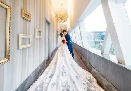 因為妳所以幸福 因為幸福,所以我們的婚禮美得令人心醉