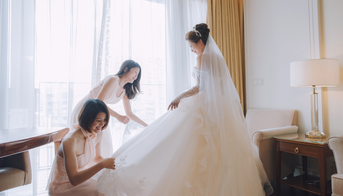 《台北婚錄》凝結的幸福畫面 / 大倉久和大飯店