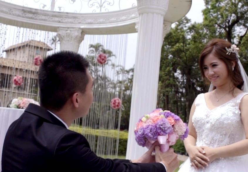 《台北婚錄》幸福難忘的甜蜜婚禮 / 台北園外園
