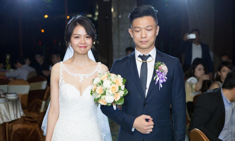 《台中婚攝》 自然的幸福 / 台中僑園飯店
