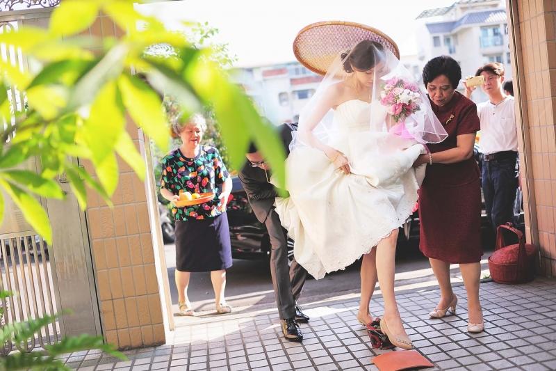 婚禮記錄了眷村的美好