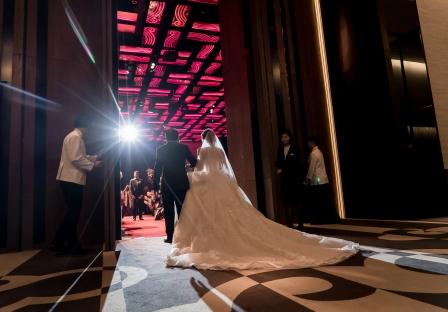 《台南婚攝》 在婚禮中的幸福蹤跡 / 台南晶英酒店