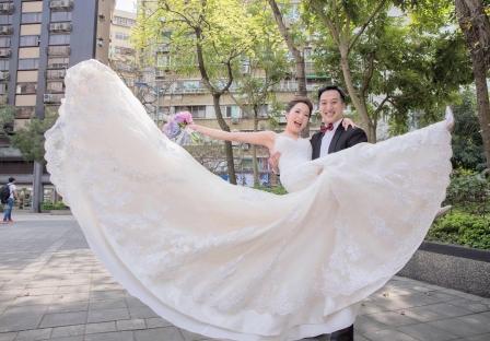 《台北婚攝》 擁抱幸福的美麗 / 大倉久和大飯店