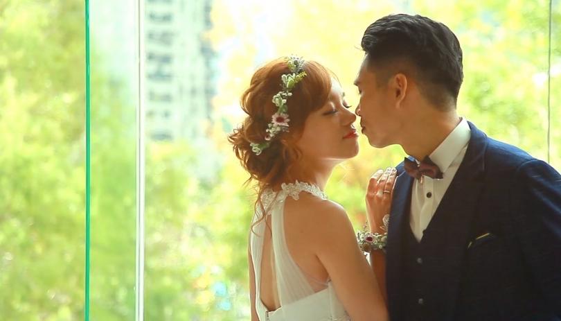 《台中婚錄》愛啊~怎麼這樣甜 / 林皇宮花園