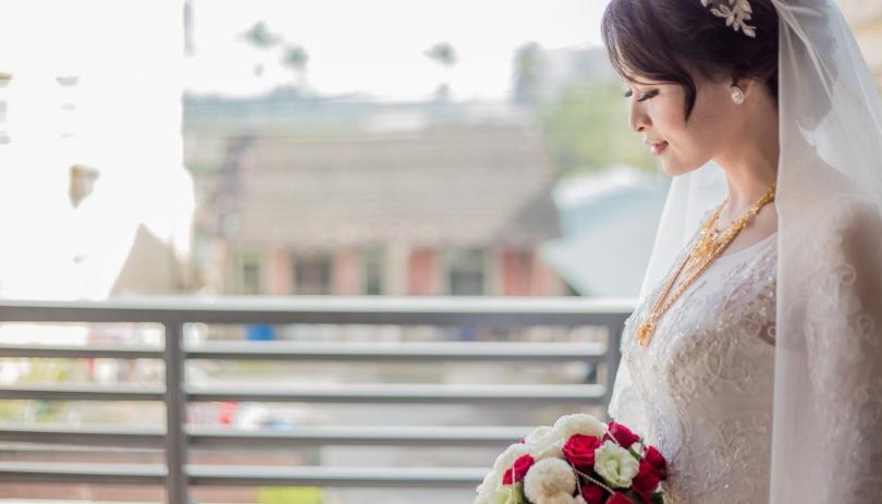 《雲林婚攝》幸福來臨時的嬌盼