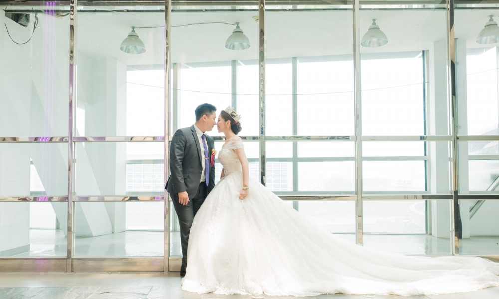《台北婚攝》 我的公主我的愛 / 臻愛婚宴會館-京華城店