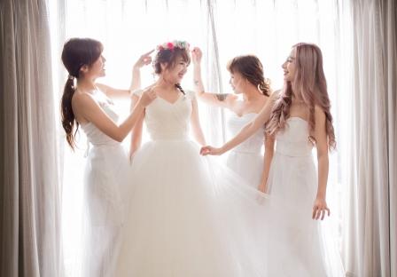 《台北婚攝》 婚禮前的閨蜜小聚會 / 台北晶華酒店