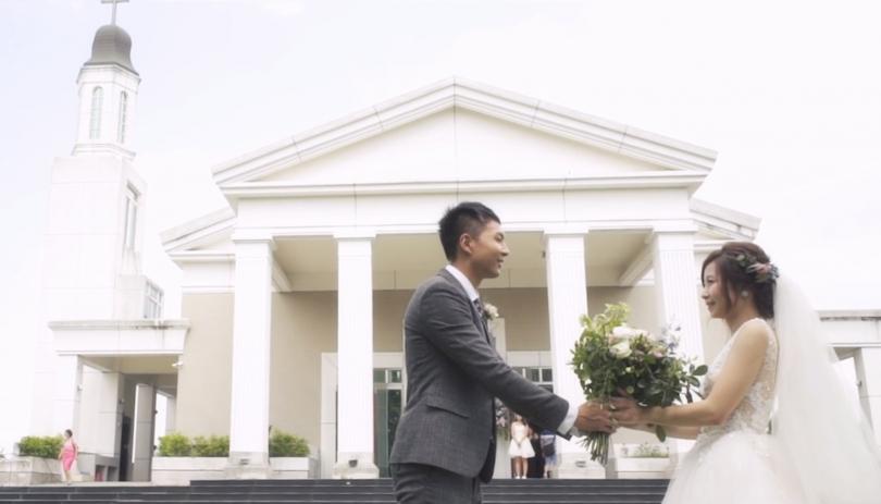 《嘉義婚錄》 沉浸在聖潔的幸福氛圍 / 嘉義傳愛浸信會