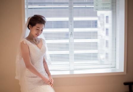 《台北婚攝》 婚禮前的那嬌盼 / 台北國賓大飯店