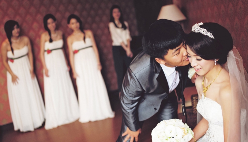 《雲林婚攝》 有種距離名為愛戀 / 緻麗伯爵酒店