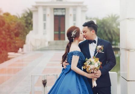 《宜蘭婚攝》浪漫異國風格的婚禮 / 香格里拉冬山河渡假飯店