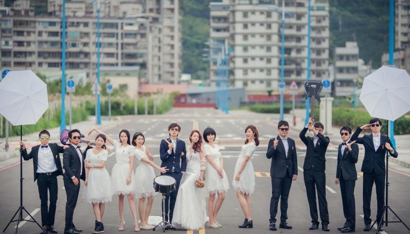 《台北婚攝》 超活躍的另類浪漫婚禮 / 故宮晶華