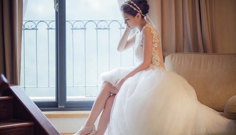《新竹婚攝》 因為愛,所以更加嬌媚動人 / 新竹彭園新竹煙波大飯店