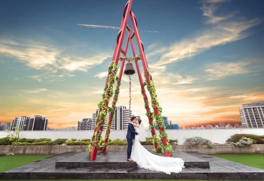 《新北婚攝》在幸福中閃耀的甜蜜婚禮 / 新莊典華婚宴會館