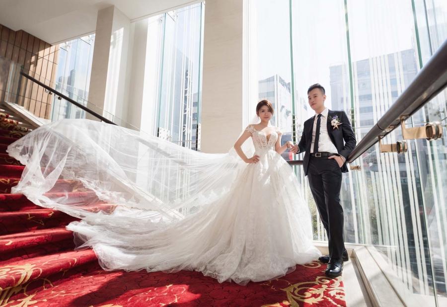 《台北婚攝》那牽的不止是手更是今生的摯愛 / 大倉久和大飯店