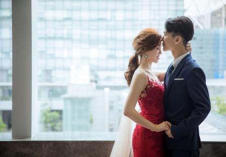 《台北婚攝》一吻永恆相繫幸福 / 南港雅悅