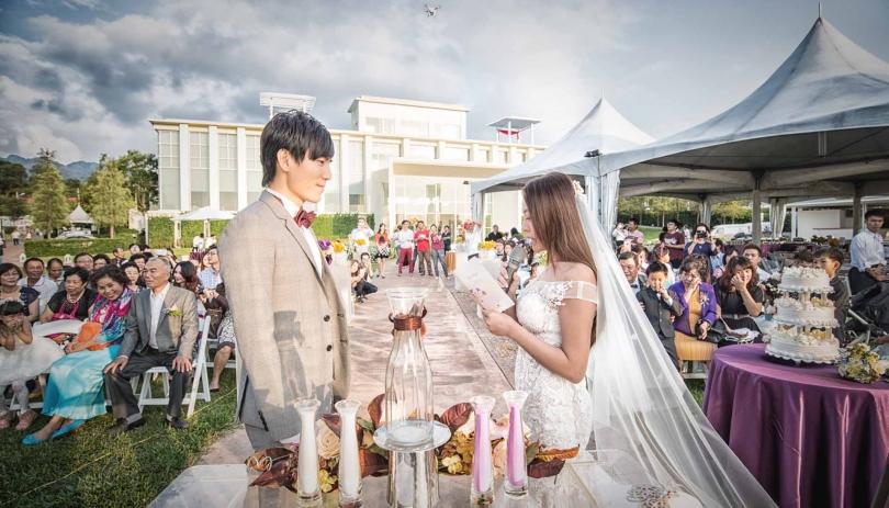 《台中婚攝》藍天為證此愛為真此諾永世 / 心之芳庭