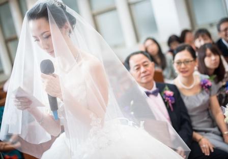 《台北婚攝》幸福來臨前的靜謐 / 懷寧浸信會