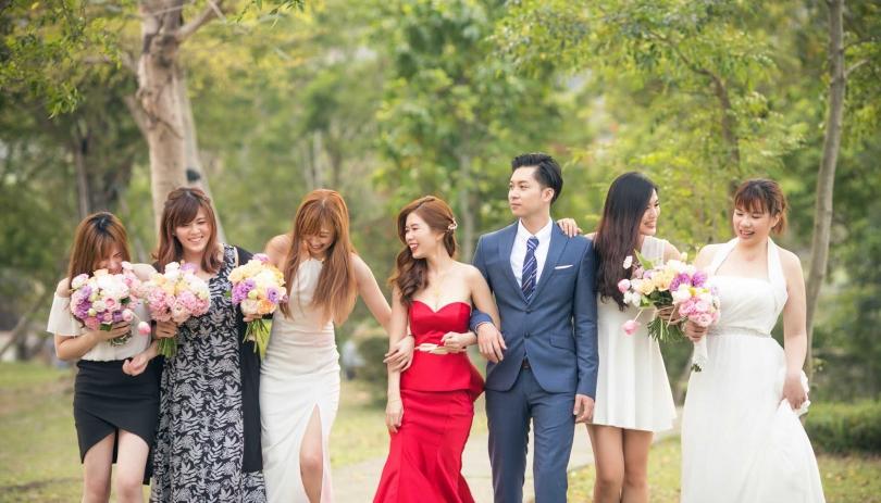 《新北婚攝》婚禮在我倆的愛中優雅進行 / 新店豪鼎飯店
