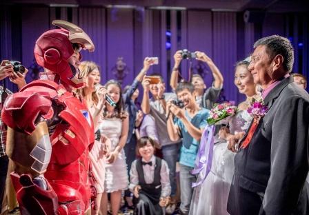 《台中婚攝》裹著鋼鐵意志的守護摯愛 / 葳格國際會議中心
