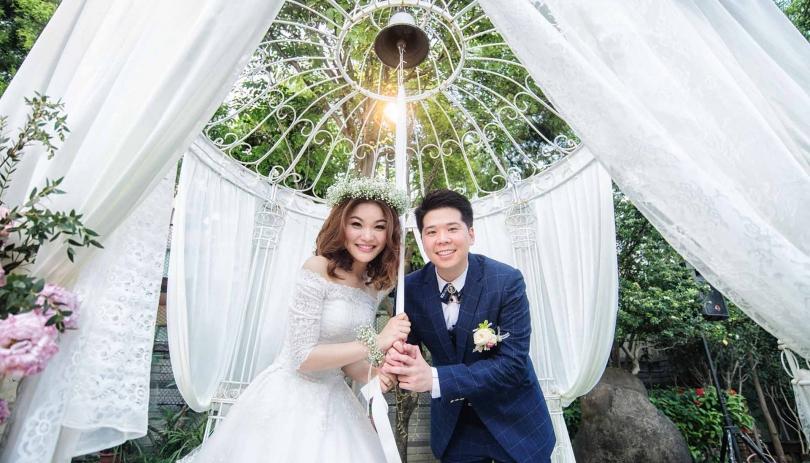 《台中婚攝》牽手一起敲幸福 / 幸福莊園House Wedding