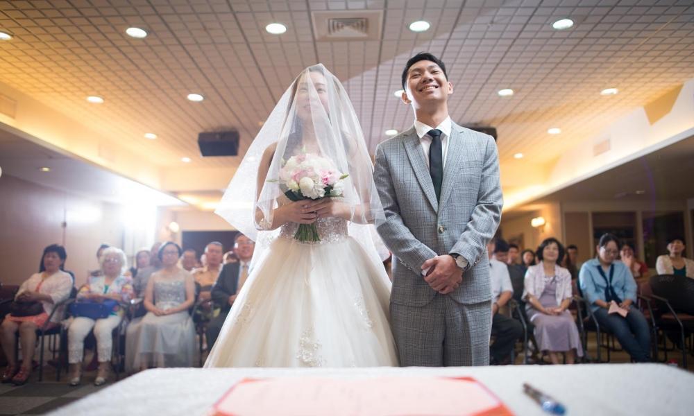 《台中婚攝》幸福降臨的感受 / 台中思恩堂美福教會