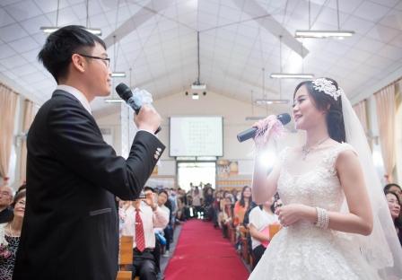 《台中婚攝》以心為證此生永相隨 / 台中思恩堂