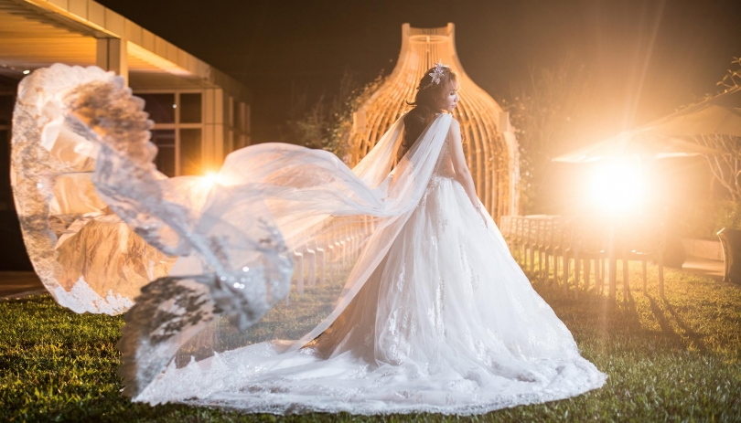 《台中婚攝》因為愛所以在黑夜中璀璨 / 林酒店