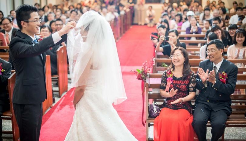 《台北婚攝》掀起美好的人生另一章 / 懷寧浸信會