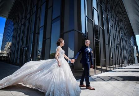 《彰化婚攝》幸福就是牽著妳一起向前行 / 皇潮鼎宴禮宴會館