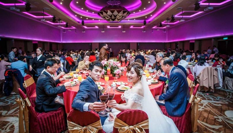 《台北婚攝》向未來的美滿舉杯 / 福華大飯店
