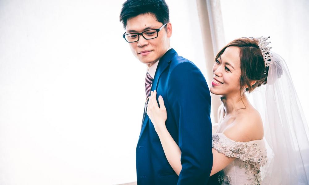 《新北婚攝》擁抱摯愛 / 華漾大飯店