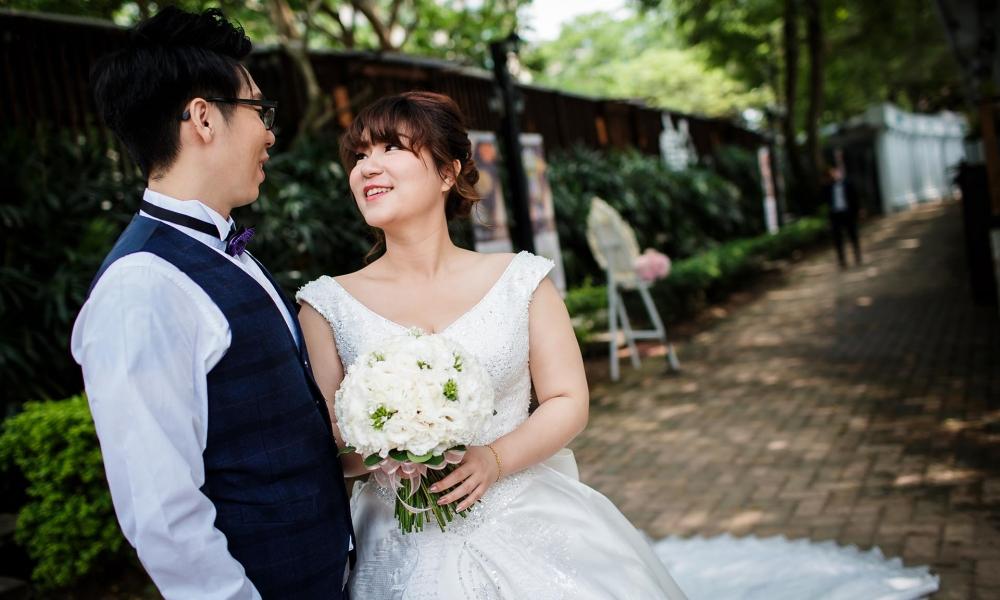 《台北婚攝》請告訴我幸福的模樣 / 青青食尚花園會館