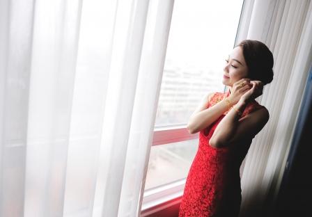 《桃園婚錄》雅緻的幸福氛圍 / 桃禧航空城