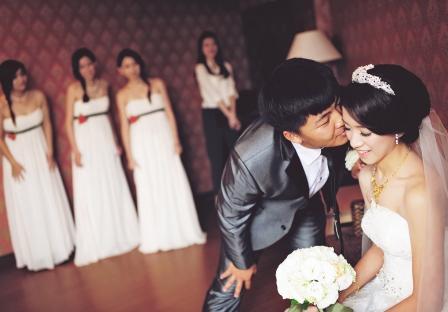 《雲林婚攝》吻幸福 / 緻麗伯爵酒店