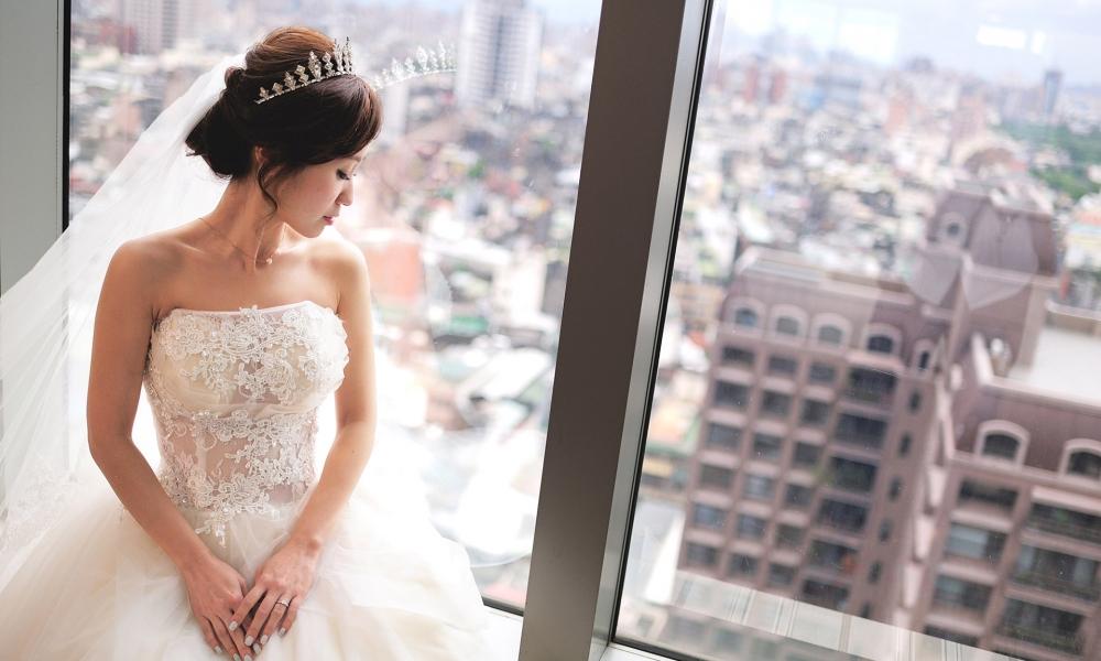 《台北婚攝》幸福新娘的絕美時刻 / 台北花園大酒店