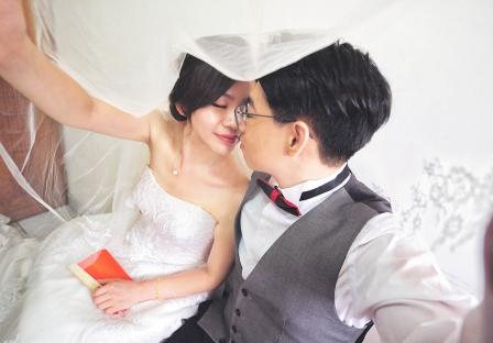《新北婚攝》淺吻幸福 / 新莊晶宴會館