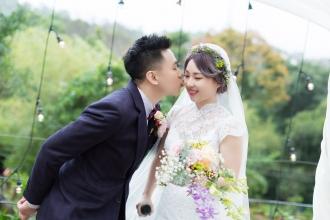 《台北婚攝》甜甜的吻永恆的愛 / 納美花園