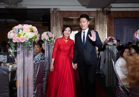 《彰化婚攝》嗨!甜美的幸福 / 桂都國際美食館