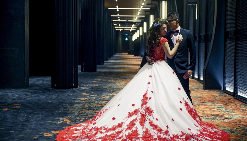 《高雄婚攝》 我倆的幸福,就是如此絕美 / 晶綺盛宴