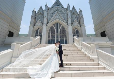 《台北婚攝》晴空之下聖潔婚禮 / 翡麗詩莊園