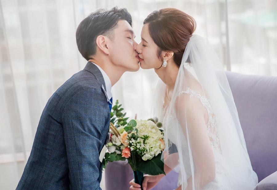 《台北婚錄》甜蜜盡顯此吻中 / 晶華酒店