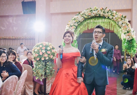 《台南婚攝》高歌幸福 / 富霖餐廳