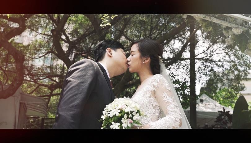《台北婚錄》淺吻至愛此生相偎 / 青青食尚花園會館