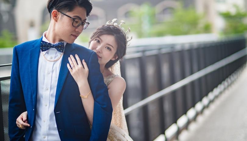 《桃園婚攝》感受幸福的心跳 / 八德彭園婚宴會館