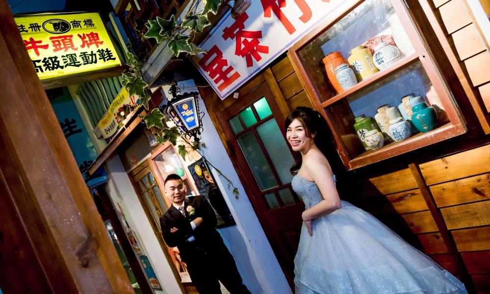 《新竹婚攝》愛在復古懷舊中 / 風城之月懷舊餐廳