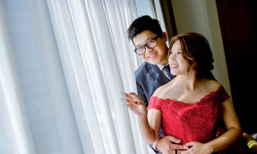 《台中婚攝》擁抱摯愛一生幸福 / 台中福華大飯店